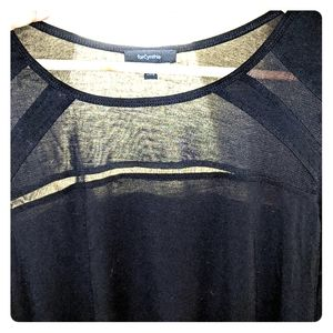 Tunic with Mesh Detail